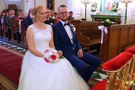 ujęcia z filmów ślubnych i weselnych 1