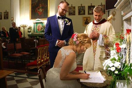 ujęcia z filmów ślubnych i weselnych 14