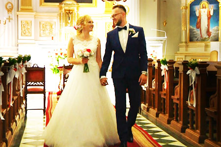 ujęcia z filmów ślubnych i weselnych 8